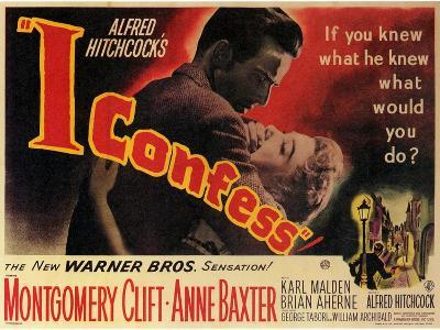 I Confess, 1953--Art Print