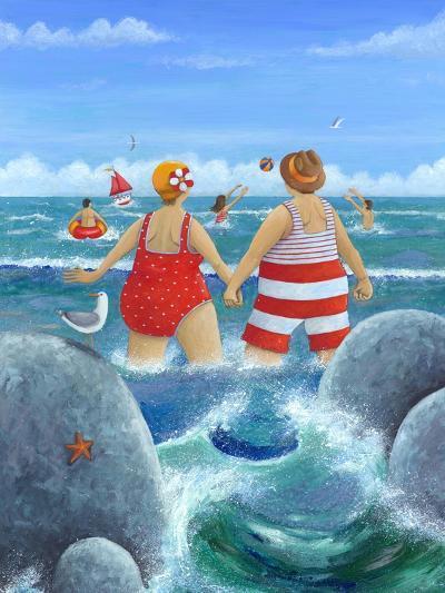 I Do Like to Be Beside the Seaside-Peter Adderley-Art Print