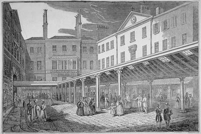 Excise Office, Old Broad Street, City of London, 1838