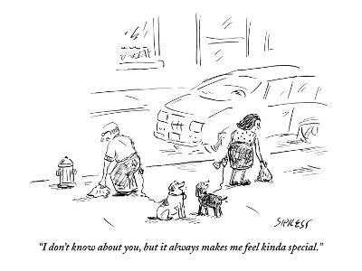 """""""I don't know about you, but it always makes me feel kinda special."""" - New Yorker Cartoon-David Sipress-Premium Giclee Print"""