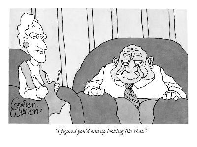 """I figured you'd end up looking like that."" - New Yorker Cartoon-Gahan Wilson-Premium Giclee Print"