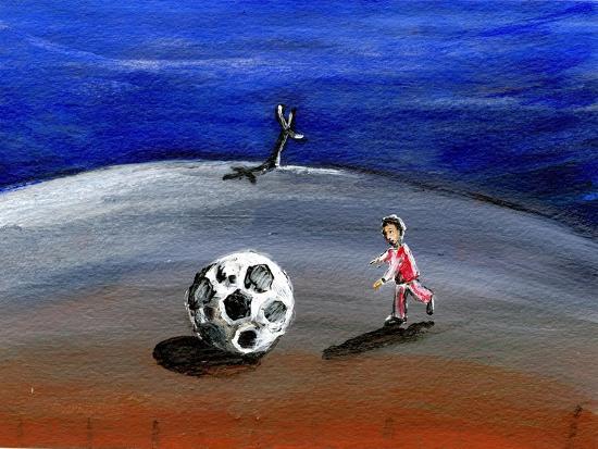 I Found a Great Big Football, 2005-Gigi Sudbury-Giclee Print