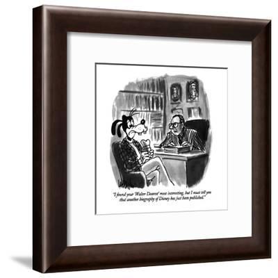"""I found your 'Walter Dearest' most interesting, but I must tell you that ?"" - New Yorker Cartoon-Warren Miller-Framed Premium Giclee Print"