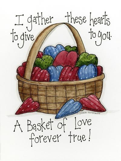 I Gather These Hearts-Debbie McMaster-Giclee Print
