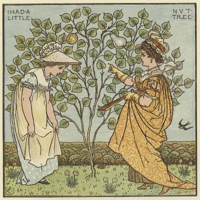 I Had a Little Nut Tree-Walter Crane-Giclee Print