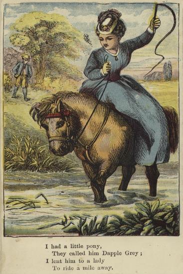 I Had a Little Pony--Giclee Print