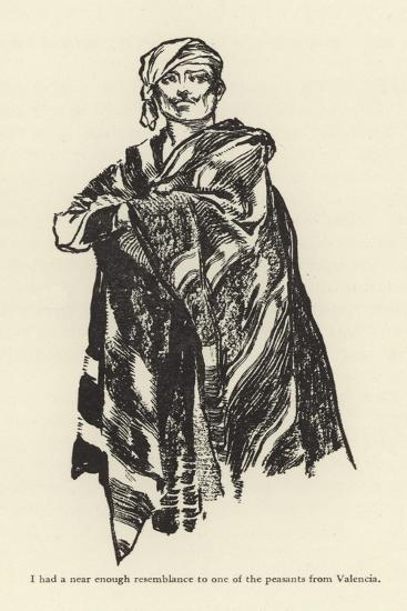 I Had a Near Enough Resemblance to One of the Peasants from Valencia-René Bull-Giclee Print