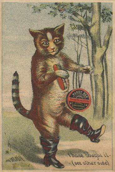 I Have Bought it Handy Box Shoe Blacking Trade Card--Giclee Print