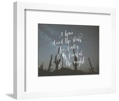 I Have Loved the Stars-Tara Moss-Framed Art Print