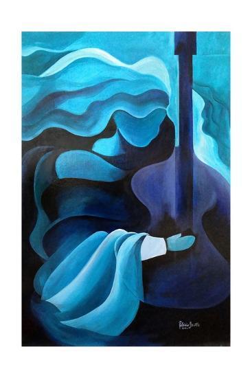 I Hear Music in the Air, 2010-Patricia Brintle-Giclee Print