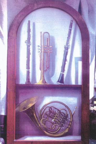 I Hear Music, Sweet Music (1985)-Terry Scales-Giclee Print