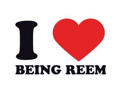 I Heart Being Reem--Giclee Print
