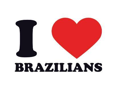 I Heart Brazilians--Giclee Print