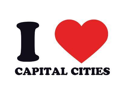 I Heart Capital Cities--Giclee Print