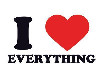 I Heart Everything--Giclee Print