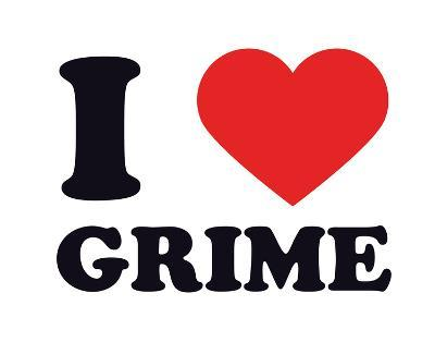 I Heart Grime--Giclee Print