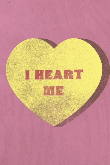I Heart Me Candy--Art Print