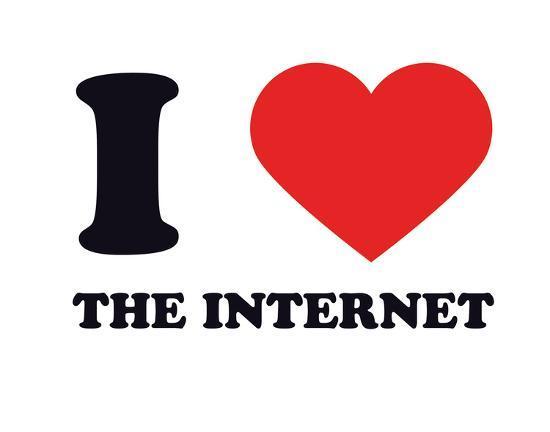 I Heart the Internet--Giclee Print