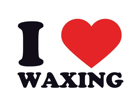 I Heart Waxing--Giclee Print