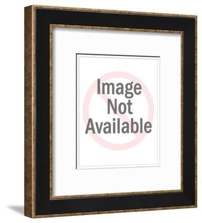 """""""I just feel we'd know more people in Hell."""" - New Yorker Cartoon-Leo Cullum-Framed Premium Giclee Print"""