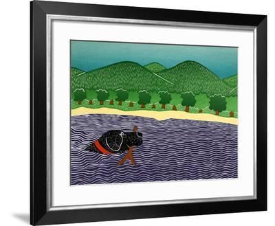 I Like Sticks-Stephen Huneck-Framed Giclee Print