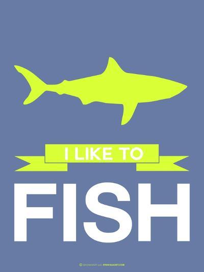 I Like to Fish 2-NaxArt-Art Print