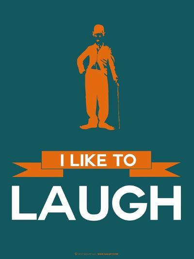 I Like to Laugh 2-NaxArt-Art Print
