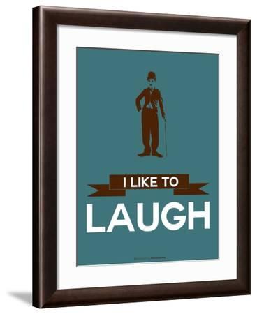 I Like to Laugh 3-NaxArt-Framed Art Print
