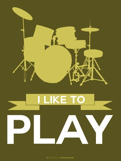 I Like to Play 5-NaxArt-Art Print