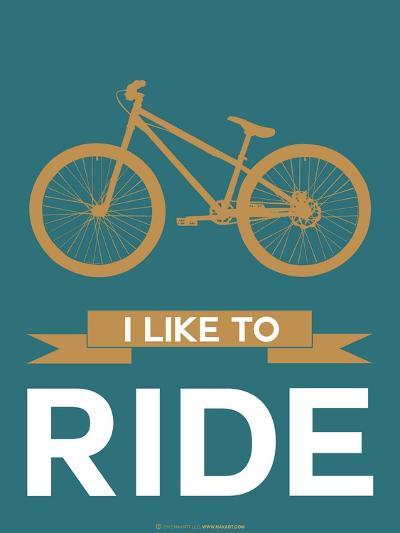 I Like to Ride 6-NaxArt-Art Print