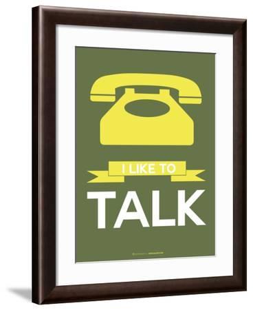 I Like to Talk 3-NaxArt-Framed Art Print
