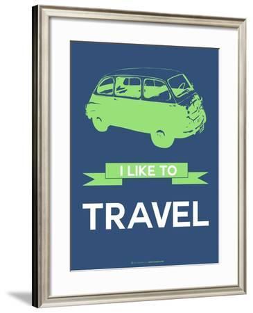 I Like to Travel 3-NaxArt-Framed Art Print