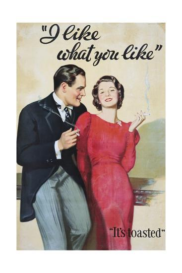 I Like What You Like Advertising Poster-Hayden Hayden-Giclee Print