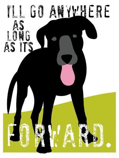 I'll Go Anywhere-Ginger Oliphant-Art Print