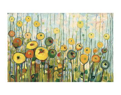 I'll Meet You For Martinis in the Poppy Garden-Jennifer Lommers-Art Print
