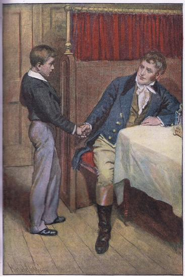I'Ll Try Father-Harold Copping-Giclee Print
