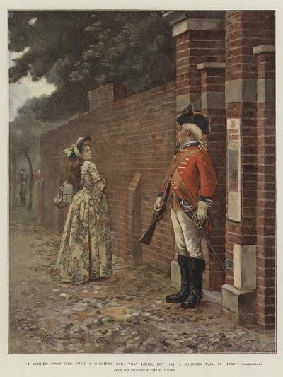 I Looked Upon Her with a Soldier's Eye; That Liked, But Had a Rougher Task in Hand, Shakespeare--Giclee Print
