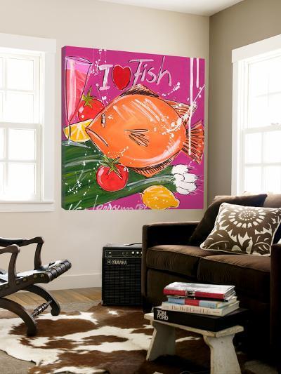 I Love Fish-El Van Leersum-Loft Art