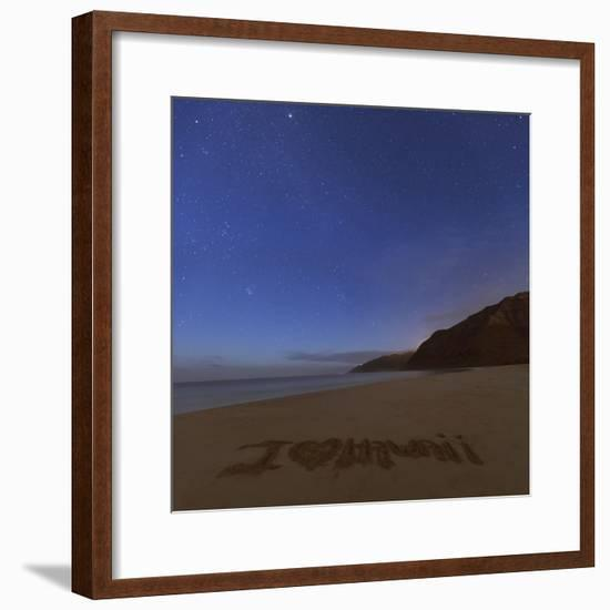 I love Hawaii Stars-Matias Jason-Framed Photographic Print