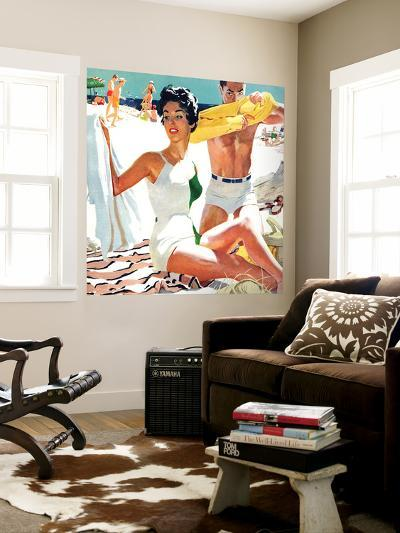 """I Love My Mother-In-Law - Saturday Evening Post """"Leading Ladies"""", June 5, 1954 pg.20-Robert Meyers-Wall Mural"""