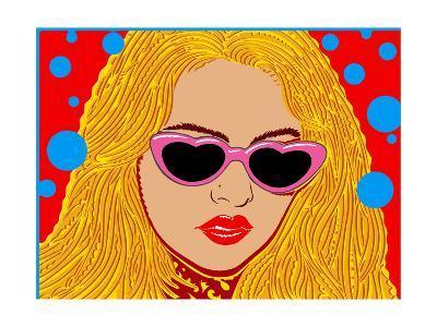 I Love Sunset - John Van Hamersveld Poster Artwork-Lantern Press-Art Print