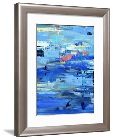 I Love the Water-Pamela J. Wingard-Framed Art Print