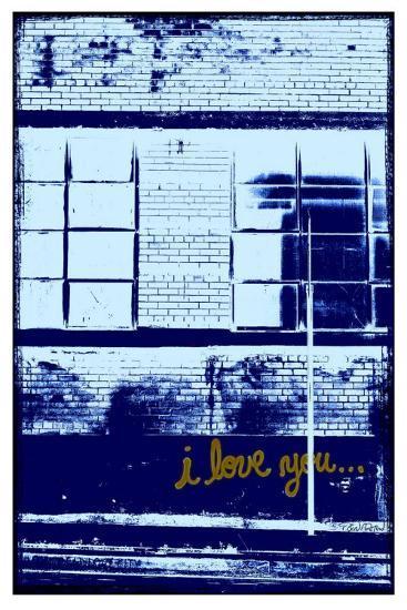 I Love You II-Pascal Normand-Art Print