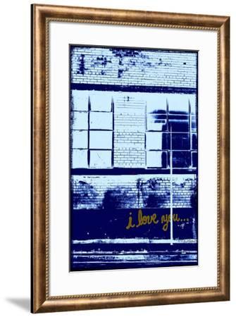 I Love You... II-Pascal Normand-Framed Art Print