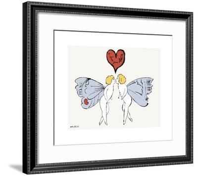 I Love You So, c. 1958 (angel)-Andy Warhol-Framed Giclee Print