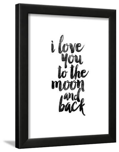 I Love You to the Moon and Back-Brett Wilson-Framed Art Print