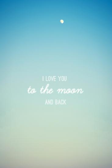 I Love you to the Moon and Back-Libertad Leal-Premium Photographic Print