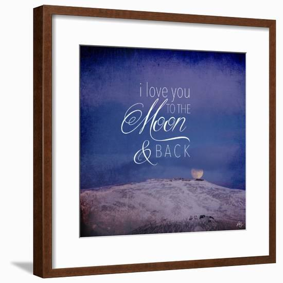 I Love you to the Moon-Kimberly Glover-Framed Giclee Print