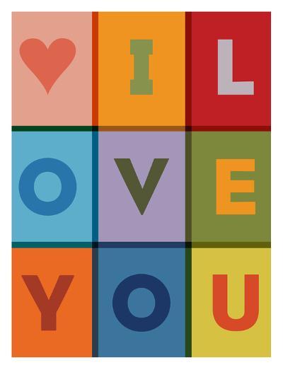I Love You-Brett Wilson-Art Print