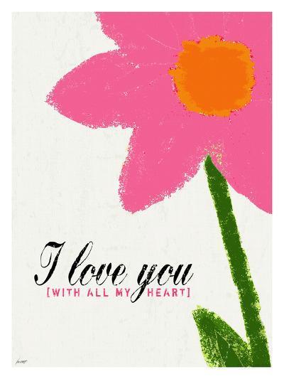 I Love You-Lisa Weedn-Giclee Print